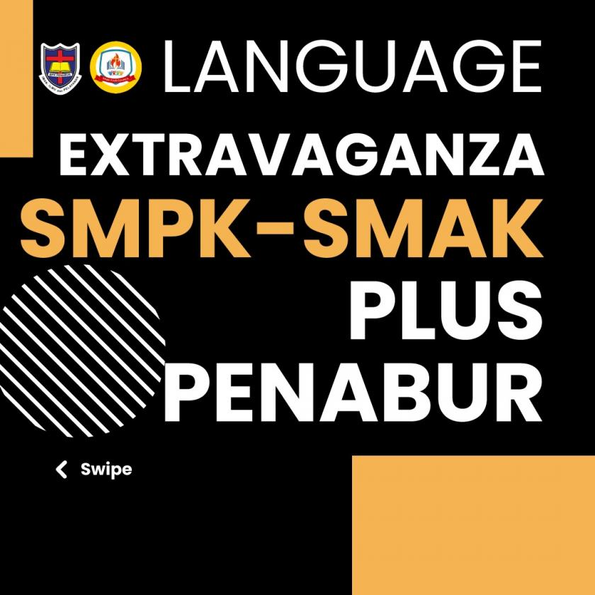 DONT FORGET TO JOIN WITH US IN LANGUAGE EXTRAVAGANZA TOMORROW