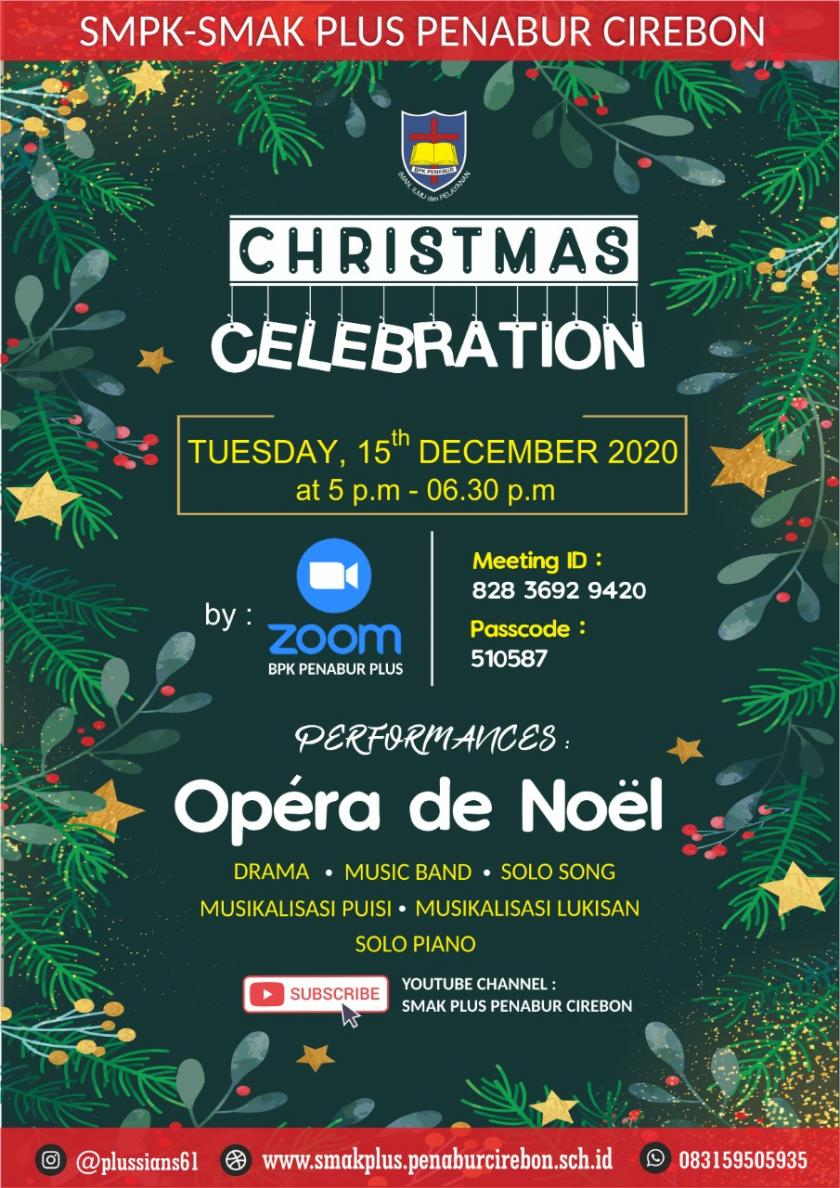 COME & JOIN US FOR WATCHING CHRISTMAS CELEBRATION 2020