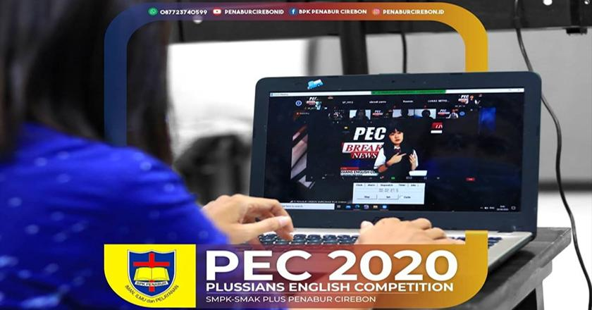 PLUSSIANS ENGLISH COMPETITION (PEC) 2020 DI TENGAH PANDEMI COVID-19